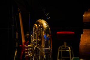 ウッド&エレキ&チューバ。チューバは完全に別システムの楽器ですね。